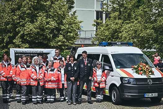 Dienstfahrzeug für KIT in Pfaffenhofen