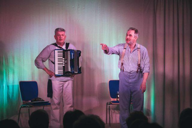 Helmut Knesewitsch und Norbert Heckner in Wolnzach