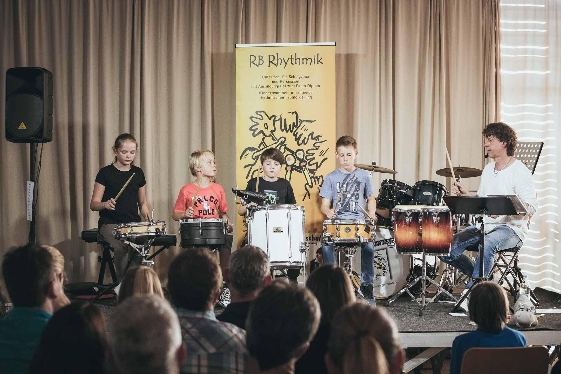 Trommelkonzert mit Rolf Berger