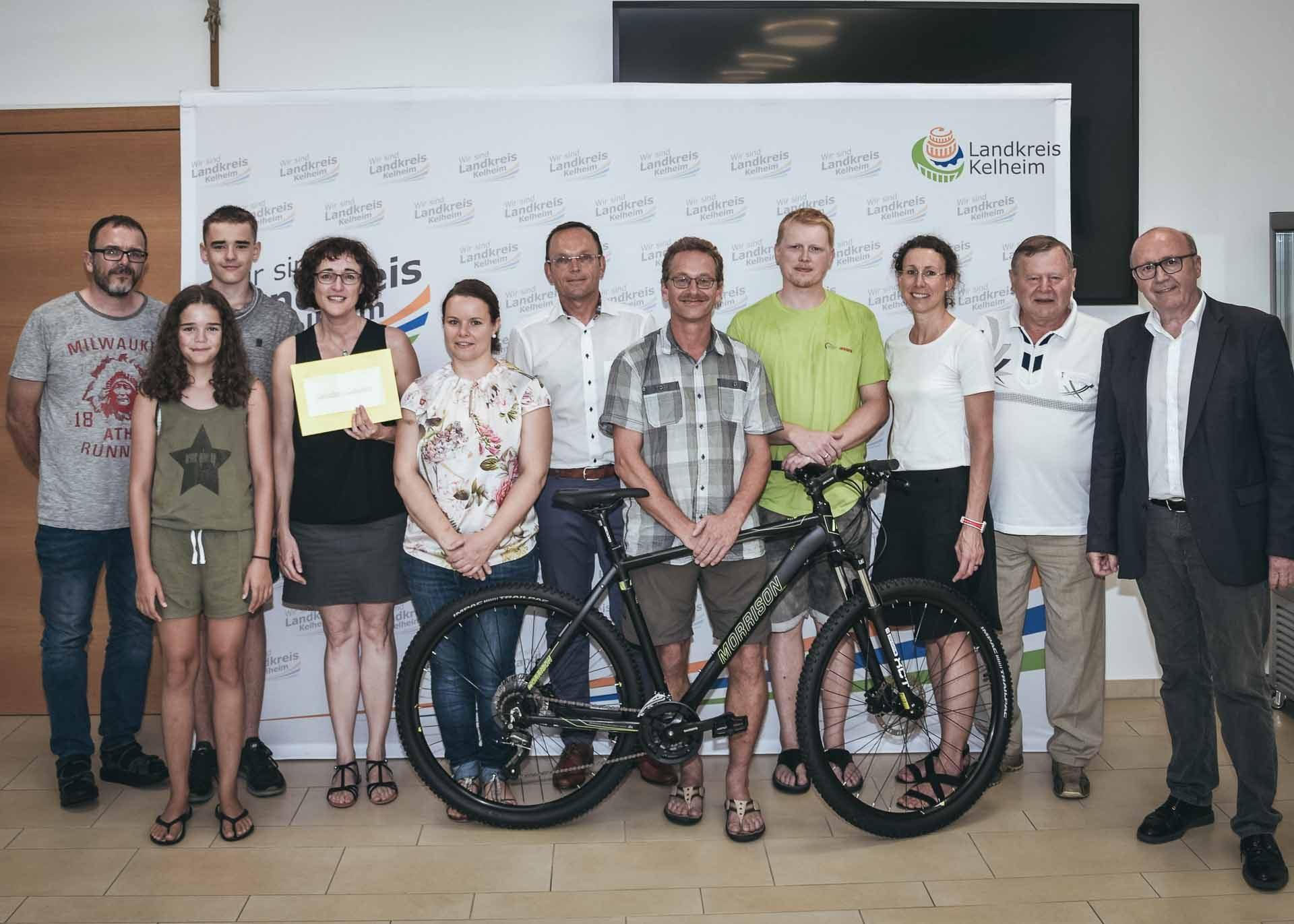 Radsport Gewinner Kelheim